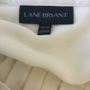 Lane Bryant Tops - Lane Bryant Blouse Ivory Size 22/24 (2XL)